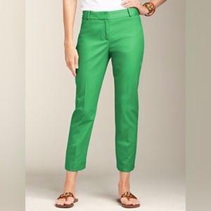 Talbots Crop Capri Pants in Green Size 2 NWOT